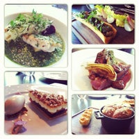 Photo taken at Dinner by Heston Blumenthal by Adeline T. on 9/15/2012