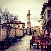 Photo taken at Kaleiçi by Ayse kubra akman S. on 3/14/2013
