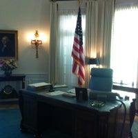 Photo taken at The Lyndon Baines Johnson Library and Museum by Yupi Y. on 4/6/2013