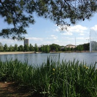 Photo taken at Hermann Park by G E. on 4/22/2013