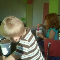 Photo taken at Yogi Frozen Yogurt by Jacquelyn M. on 10/24/2012