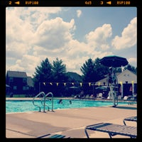 Photo taken at Traceside Pool by Adrienne F. on 7/26/2013