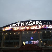 Photo taken at First Niagara Center by Jay L. on 2/26/2013