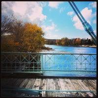 Photo taken at South Washington Street Bridge by Joshua A. on 11/1/2013