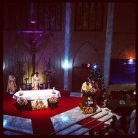 Photo taken at Saint John's Church by Eubeng H. on 12/24/2012