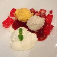 Photo taken at iberry Fruit Café by Bassonovy I. on 3/6/2013