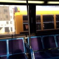 Photo taken at MTA Bus - B62 by Amanda C. on 2/19/2014