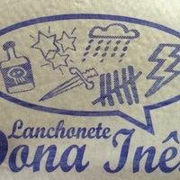 Photo taken at Lanchonete e Restaurante Dona Inês by Rogerio M. on 5/30/2015