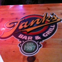 Photo taken at Tank's Bar & Grill by Jake F. on 10/26/2012