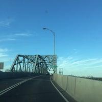 Photo taken at Pont Honoré-Mercier by Ryan M. on 9/13/2016