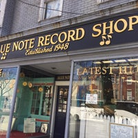 Photo taken at Blue Note Record Shop by Ryan M. on 4/16/2016
