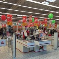 Photo taken at Auchan by Marcin M. on 5/8/2016