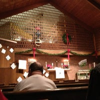 Photo taken at First Congregational Church by Anne M. on 12/24/2012