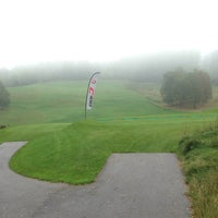 Photo taken at Ypsilon Golf Resort Liberec by Jakub Š. on 9/14/2014