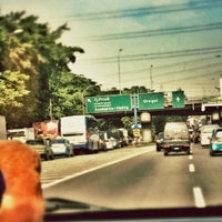 Photo taken at Jalan Tol Dalam Kota by Natalya P. on 11/9/2012