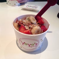 Photo taken at Yoyo's Yogurt Cafe by Cynthia C. on 5/26/2014