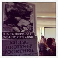 Photo taken at Ojai Retreat by Jason W. on 3/9/2014
