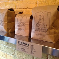 Photo taken at Lamplighter Roasting Co. by Elle S. on 5/19/2013