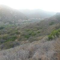 Photo taken at Nicholas Flat Trail, Malibu Canyon by Stacey~Marie on 6/20/2014