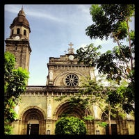 Photo taken at Cathedral-Basilica of the Immaculate Conception of Manila (Manila Cathedral) by Olly S. on 2/18/2013