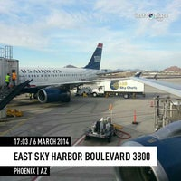 Photo taken at Gate A25 by ✈--isaak--✈ on 3/7/2014