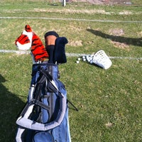 Photo taken at Indian Canyon Golf Course by Kelly L. on 3/30/2013