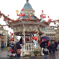 Photo taken at Town Square – Main Street U.S.A by Bert S. on 11/2/2012