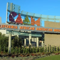 Photo taken at California African American Museum by BET on 1/31/2013