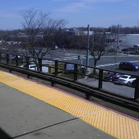 Photo taken at LIRR - Bellmore Station by Diana Q. on 4/5/2013