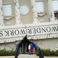 Photo taken at WonderWorks by Loretta P. on 12/29/2012