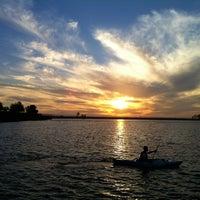 Photo taken at Lake Miramar Reservoir by CJ E. on 9/28/2012