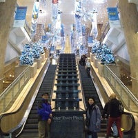 Photo taken at Water Tower Place by Maricel P. on 11/21/2012