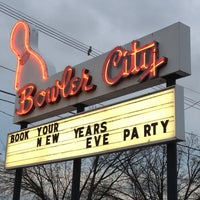 Photo taken at Bowler City Lanes by June Y. on 12/20/2012