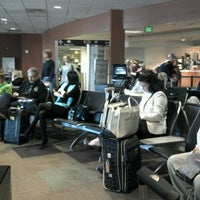Photo taken at Concourse A by Larry I. on 10/11/2012