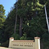 Photo taken at Humboldt State University by fuzzzzzz on 8/20/2016