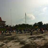 Photo taken at Lapangan Upacara Kantor Bupati by Evan L. on 12/6/2012