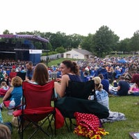 Photo taken at Shawnee Mission Theater In The Park by Joel M. on 9/1/2014