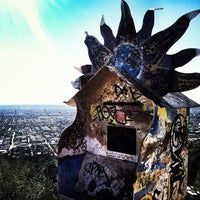 Photo taken at Runyon Canyon Park by nelehelen on 1/21/2013