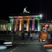 Photo taken at Pariser Platz by Tom L. on 10/19/2012