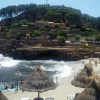 Photo taken at Cala Molins by Angel F. on 8/14/2013