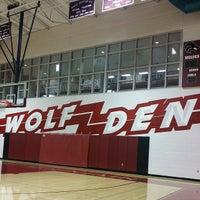 Photo taken at Desert Mountain High School by Kelly S. on 8/15/2014