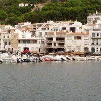 Photo taken at El Port de la Selva by Jordi A. on 9/28/2012