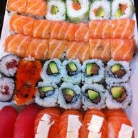 Photo taken at Hoki Sushi by Sophie N. on 11/28/2012