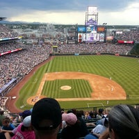 Photo taken at Coors Field by Rachel M. on 7/4/2013