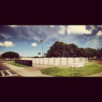 Photo taken at USS Oklahoma Memorial by Ron L. on 10/4/2012