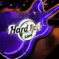 Photo taken at Hard Rock Cafe Santiago by Camilo P. on 5/4/2013