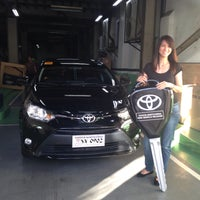 Photo taken at Toyota North Edsa by Donna P. on 12/22/2015
