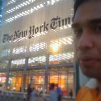 Photo taken at New York Times Building by Lito M. on 9/11/2013