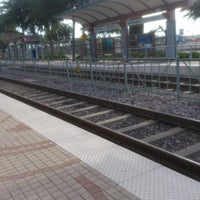 Photo taken at Bush Turnpike Station (DART Rail) by Rene M. on 6/3/2013