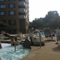 Photo taken at River Place Pool by Lukas Z. on 8/30/2015